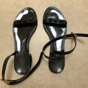 Banana Republic Jelly Ankle Wrap Sandals